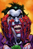 Batman: the Joker - Hands Dripping Red, Laughing Maniacally Posters