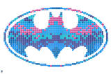 DC Batman Comics: Batgirl Pixelated Camo Prints