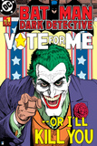 Batman: Batman Dark Detective Cover with the Joker Posing Like Uncle Sam with a Creep Smile Print
