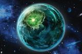 DC Green Lantern Comics: Core Energy Print