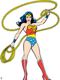 Wonder Woman: Wonder Woman with Lasso Prints
