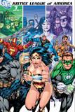Justice League: Justice League America No 7B (Color) Prints