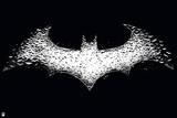 DC Batman Comics: New '52' Logo Graphics Prints