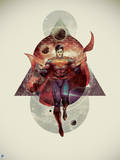 DC Superman Comics: New '52' Stellar Geometry Design Prints