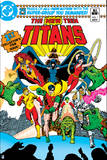 Justice League: the New Teen Titans No 1 (Color) Print