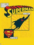 DC Superman Comics: Father's Day Design Prints
