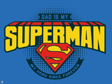 DC Superman Comics: Father's Day Design Posters