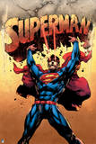 DC Superman Comics Poster