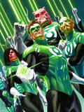 DC Green Lantern Comics: Alex Ross Art Posters