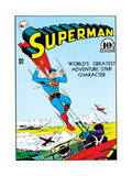 DC Superman Comics: Superman 75th Exclusive Covers Print