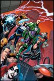DC Justice League Comics: Comic Book Covers Poster