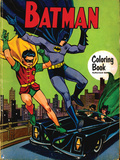 DC Batman Comics: Vintage Coloring Book Prints
