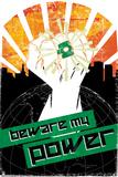 DC Green Lantern Comics: Propaganda Art Print