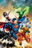 DC Justice League Comics: Comic Book Covers Posters