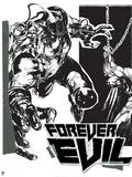 DC Justice League Comics: Forever Evil Print