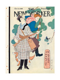 The New Yorker Cover - October 25, 1930 Premium Giclee Print by Rea Irvin