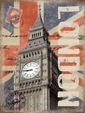 London Tin Sign