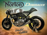 Norton Domiracer Plaque en métal