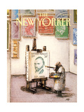 The New Yorker Cover - April 25, 1988 Premium Giclee Print by Andre Francois