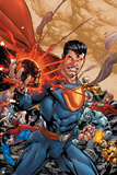 DC Justice League Comics: Comic Book Covers Print
