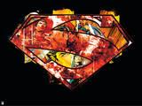 DC Superman Comics Print