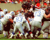 Mike Singletary 1989 Action Photo