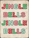 Jingle Bells Blikskilt