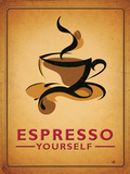 Espresso Yourself - Metal Tabela