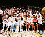 San Antonio Spurs Celebrate Winning the 2005 NBA Championship Photo