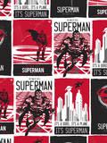 DC Superman Comics: Reel Time Posters