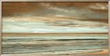The Surf Framed Giclee Print by John Seba