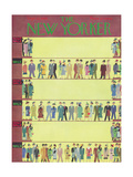 The New Yorker Cover - September 22, 1956 Giclee Print by Charles E. Martin