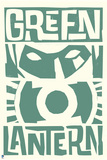 DC Green Lantern Comics Prints