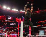 Roman Reigns 2015 Royal Rumble Action Photo
