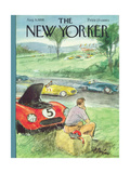 The New Yorker Cover - August 9, 1958 Premium Giclee Print by Perry Barlow