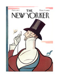 The New Yorker Cover - February 21, 1977 Premium Giclee Print by Rea Irvin