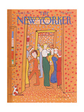 The New Yorker Cover - April 6, 1981 Premium Giclee Print by Andre Francois