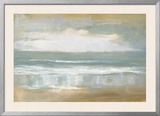 Shoreline Framed Giclee Print by Caroline Gold