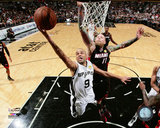 Tony Parker Game 5 of the 2014 NBA Finals Action Photo