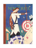 The New Yorker Cover - August 9, 1930 Premium Giclee Print by Rea Irvin