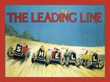 Shell Leading Line Cartel de chapa