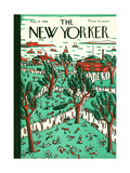The New Yorker Cover - August 14, 1926 Premium Giclee Print by Ilonka Karasz