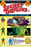 DC Justice League Comics: Comic Book Covers Prints
