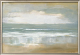 Shoreline Framed Giclee Print by Caroline Gold
