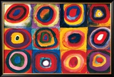 Color Study of Squares Art by Wassily Kandinsky