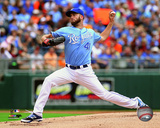 Danny Duffy 2014 Action Photo