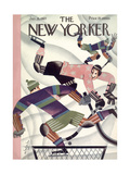 The New Yorker Cover - January 15, 1927 Regular Giclee Print by Constantin Alajalov