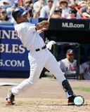 Moises Alou - 2007 Batting Action Photo