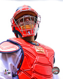 Yadier Molina 2014 Action Photo