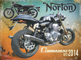 Norton Commando 1973 2014 Peltikyltit